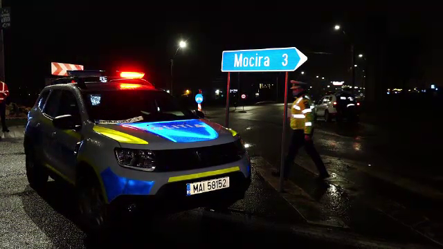 Urmărire cu focuri de armă pentru prinderea unui hoţ din Maramureş care a furat un cap de TIR