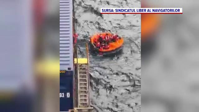 Un român a devenit erou pentru 13 marinari chinezi. Nava lor era în pericol să se scufunde