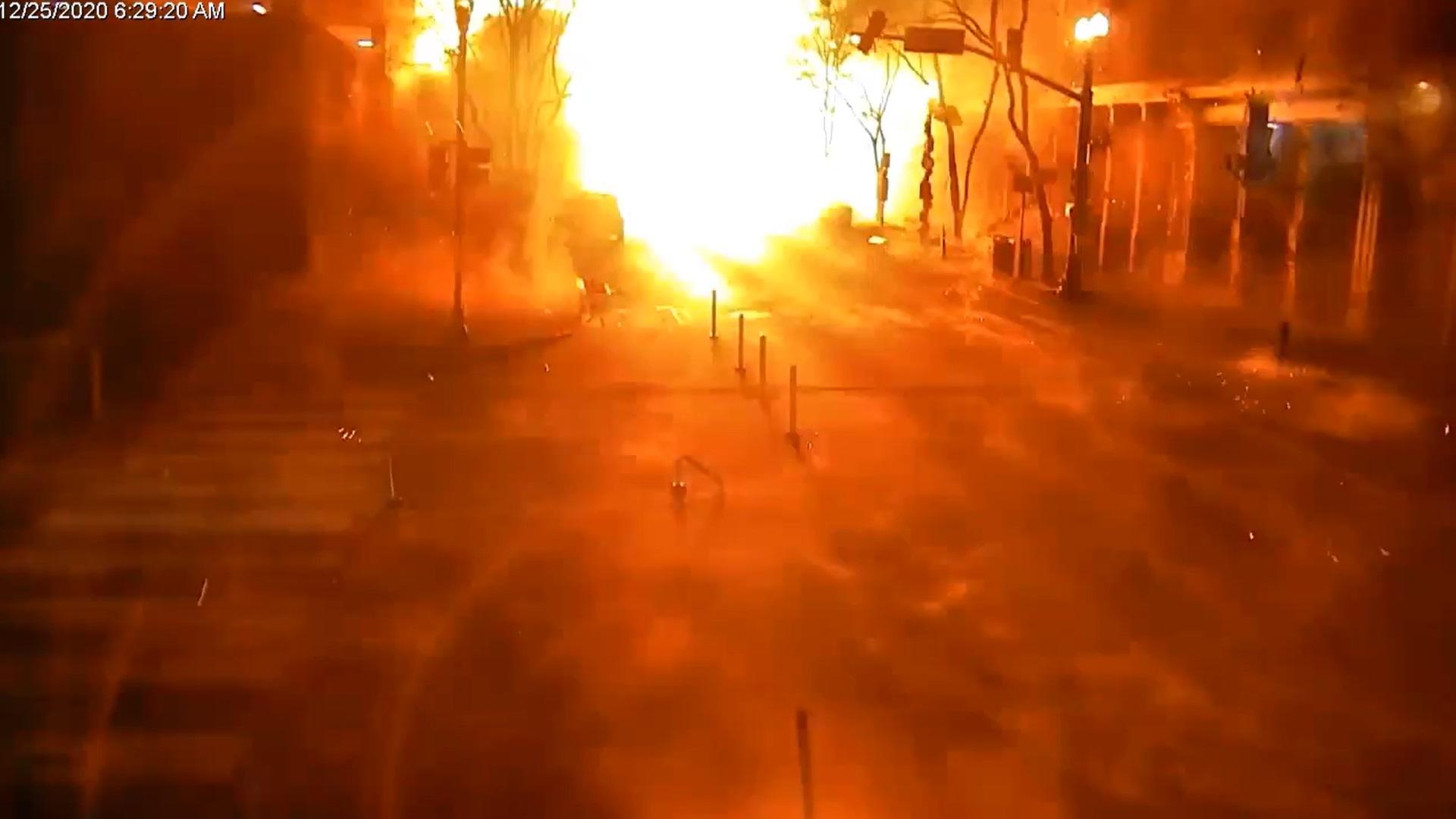 Cine a provocat explozia violentă din Nashville. Momentul deflagrației, surprins de camere. VIDEO