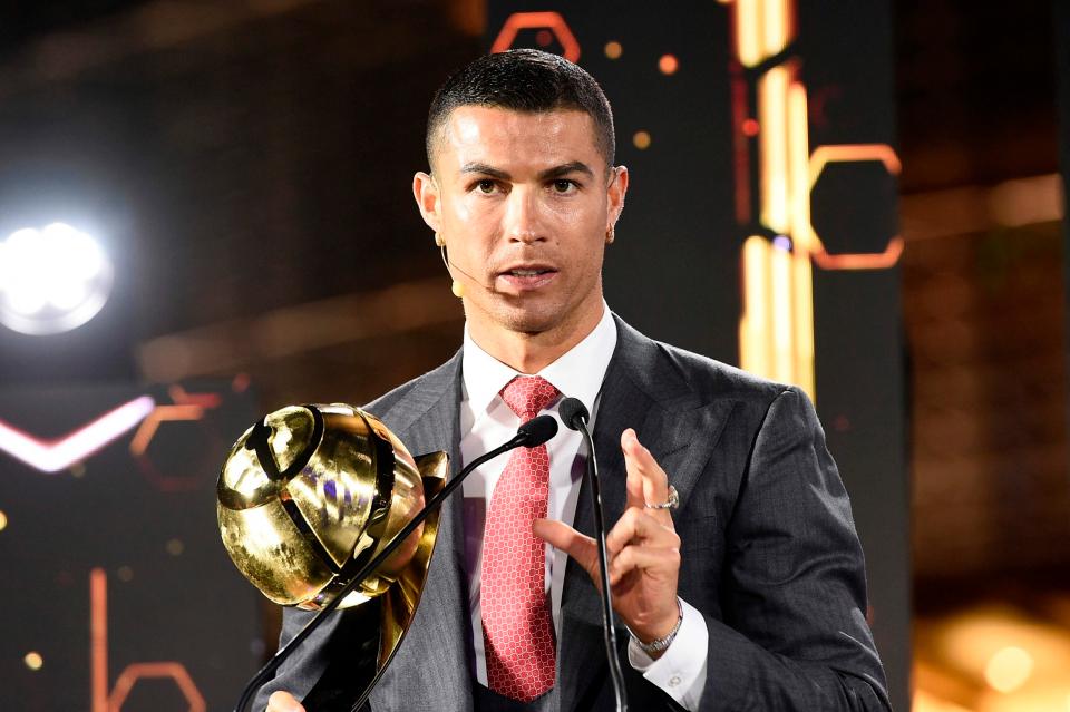 Cristiano Ronaldo, desemnat cel mai bun fotbalist al secolului XXI la gala Globe Soccer Awards