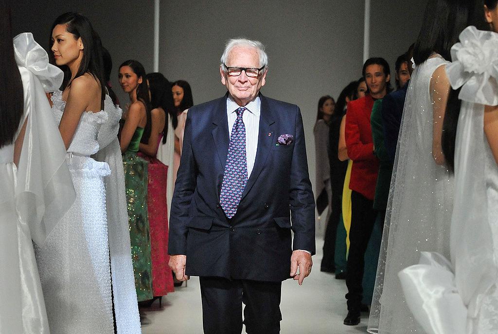 Celebrul creator de modă francez Pierre Cardin a murit la vârsta de 98 de ani