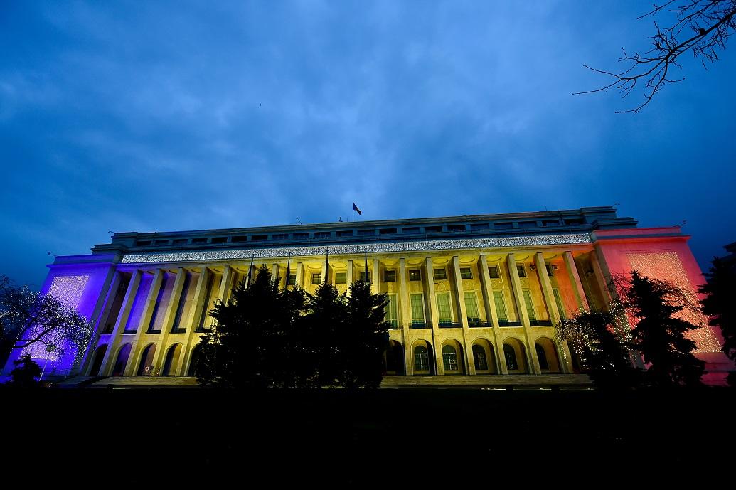 Mesajul de Anul Nou al Guvernului României.