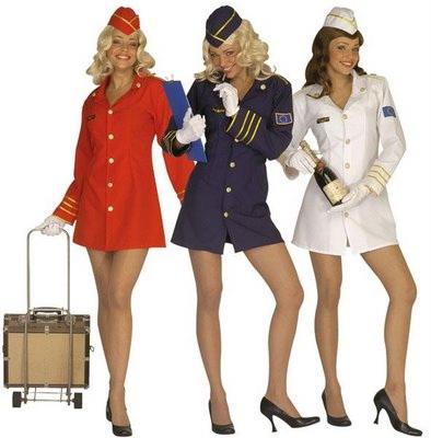 O companie aeriana angajeaza exclusiv stewardese pentru a reduce consumul de combustibil