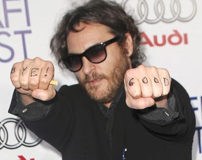 Gata cu circul! Joaquin Phoenix i-a cerut scuze lui David Letterman