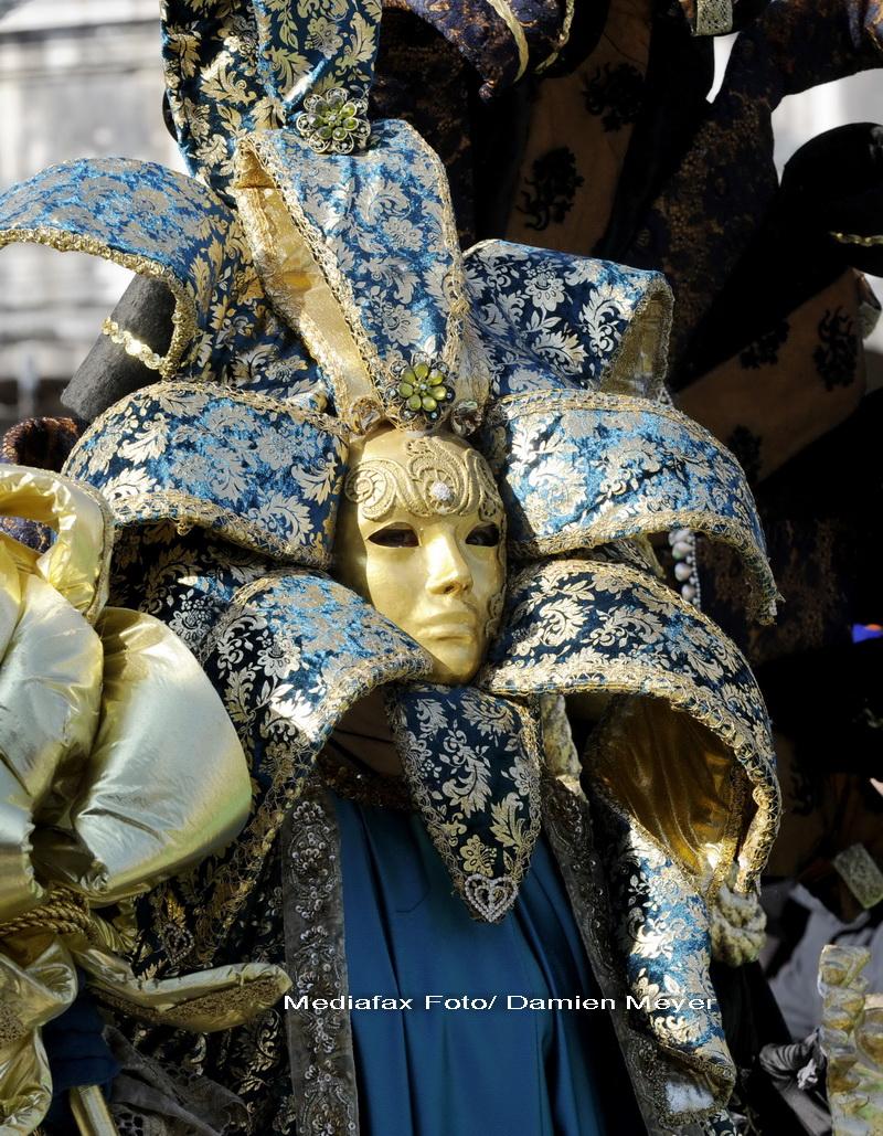 Carnavalul de la Venetia: ingerul a