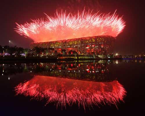Jocurile Olimpice de Iarna deschise cu un show laser conceput de doi romani