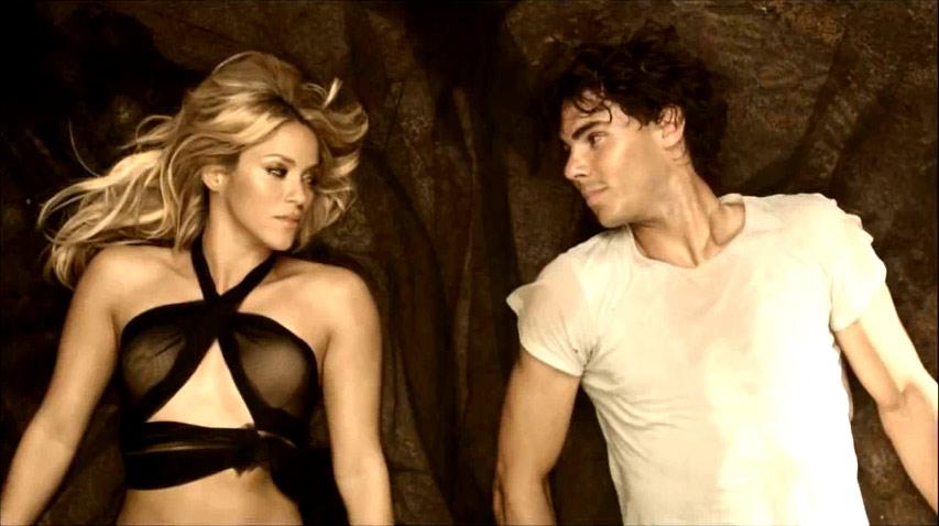 Shakira si Rafael Nadal, in scene fierbinti la Barcelona! VIDEO!