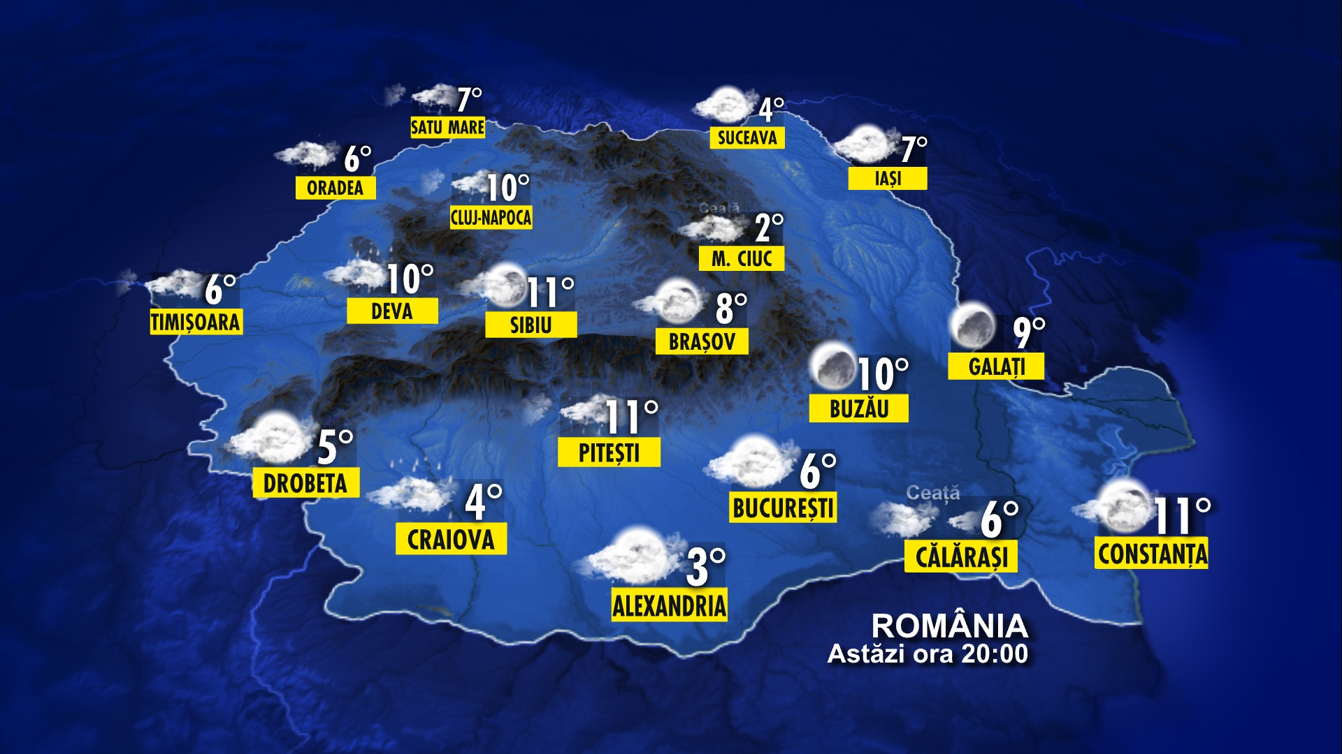 Vezi Cum Este Vremea In Romania Din Ora N Ora Stirileprotv Ro