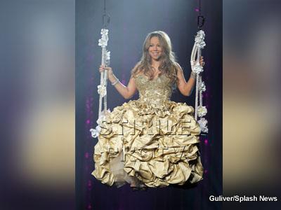 Mariah Carey, printesa de pe scena teatrului Gibson, din California!