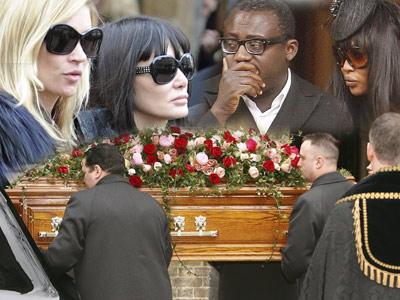 Kate Moss si Naomi Cambell si-au luat adio de la Alexander McQueen!