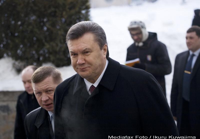 Viktor Ianukovici, investit in functia de presedinte al Ucrainei