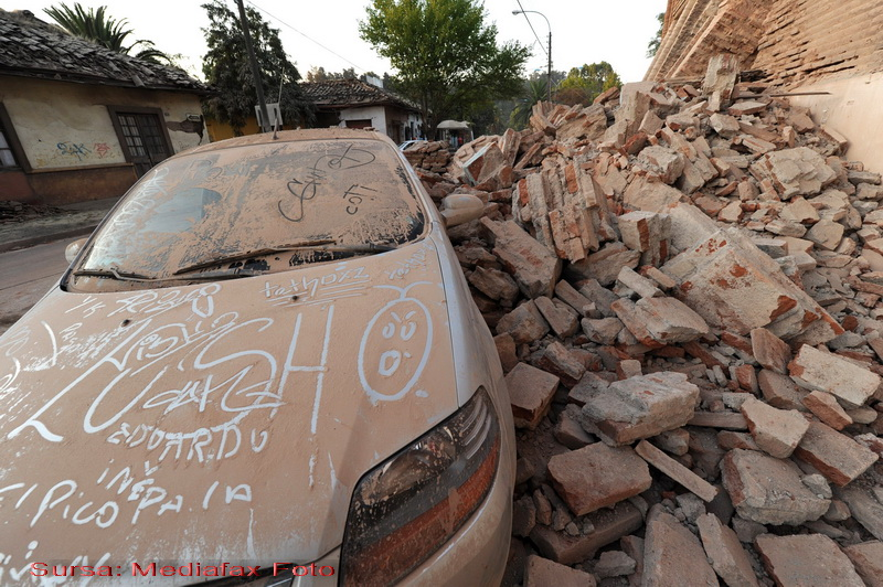 Dupa cutremur, jafuri la tot pasul in Chile!