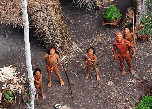 Acest trib, rupt de civilizatie, a disparut cu totul dupa ce a fost aratat lumii