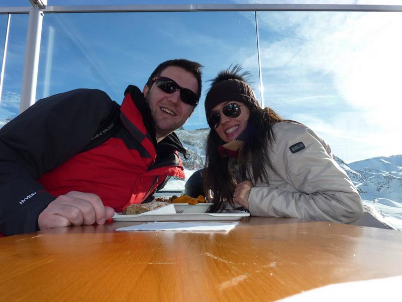 Andi Moisescu si Olivia Steer, vacanta la schi in Austria