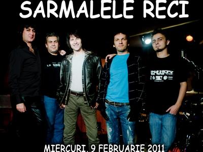 Concert Sarmalele Reci in Club A, pe 9 februarie