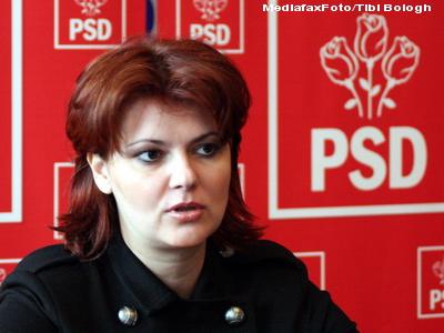 Senatorul PSD Lia Olguta Vasilescu vrea sa fie primar al Craiovei