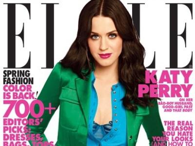 Katy Perry aduce o explozie de culori in Elle. FOTO