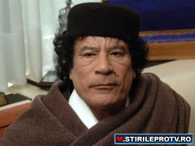 Muammar Gaddafi ameninta cu razboiul civil, daca protestele continua
