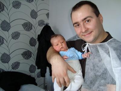 Rares Nastase a devenit tata pentru a doua oara