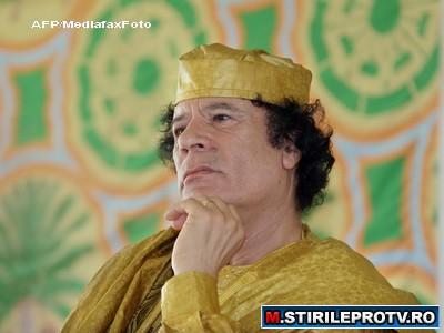 Gaddafi catre popor:Fiti alaturi de mine, altfel voi arde Libia din temelii