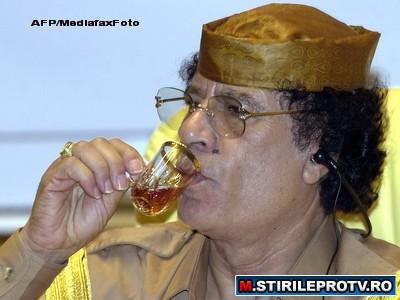 Vezi VIDEO. Ghaddafi a defilat triumfator prin Tripoli