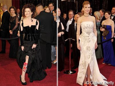 Nicole Kidman, cel mai prost imbracata la Oscar. Vezi si alte dezastre.FOTO