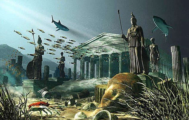 Legendara Atlantida,