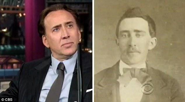 Reactia lui Nicolas Cage la fotografia din 1860. Cum explica actorul asemanarea izbitoare