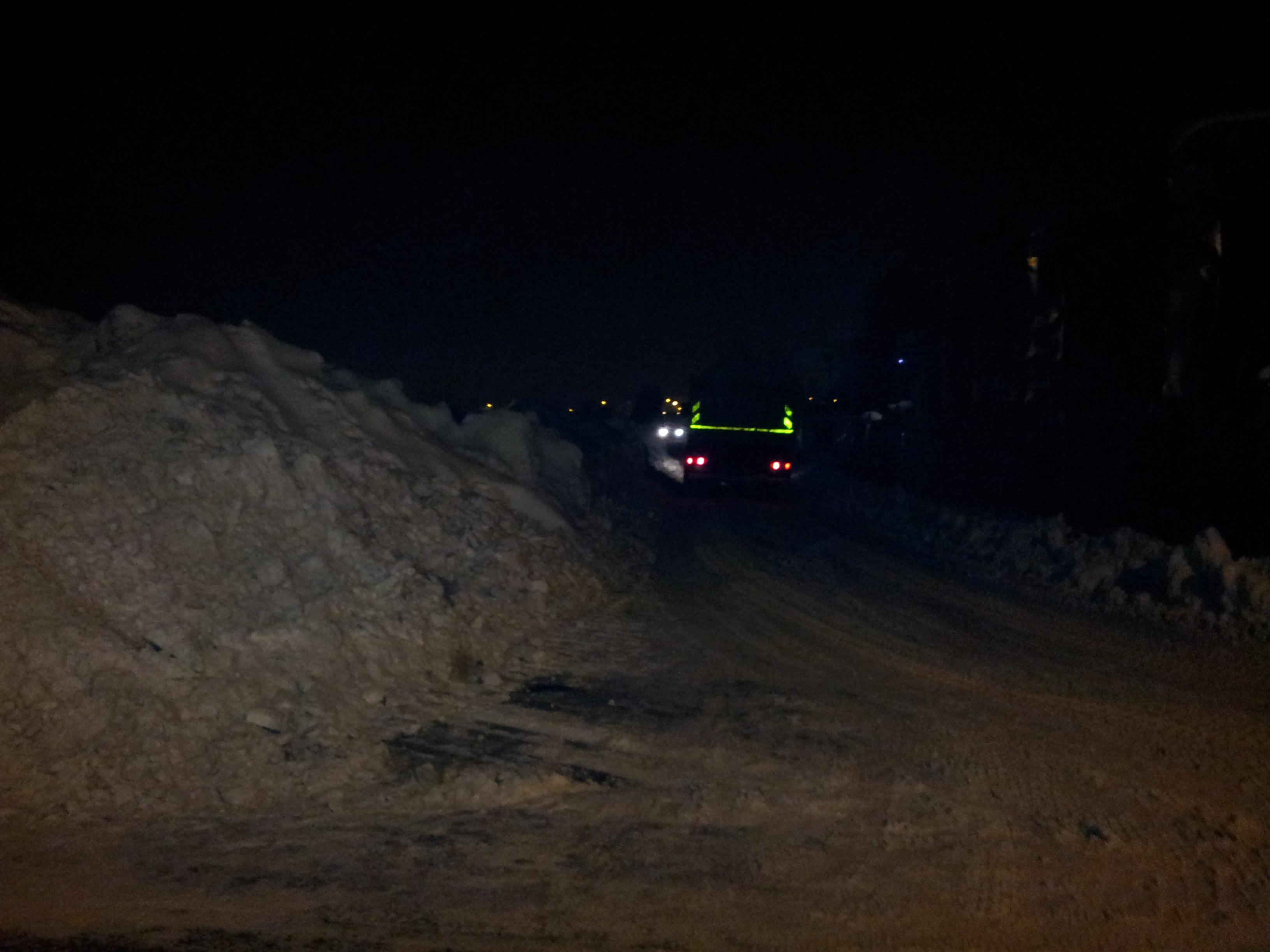 Deszapezirea de la miezul noptii. Bulevardul Dragalina a fost blocat, iar masinile, ridicate