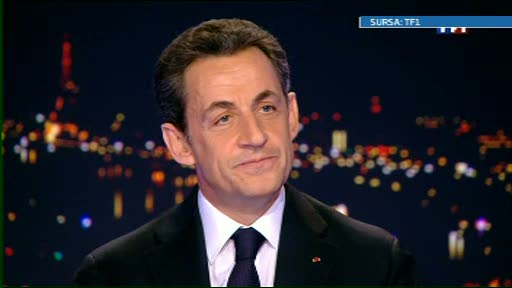 Nicolas Sarkozy, pe primul loc in sondaje in turul intai al alegerilor prezidentiale
