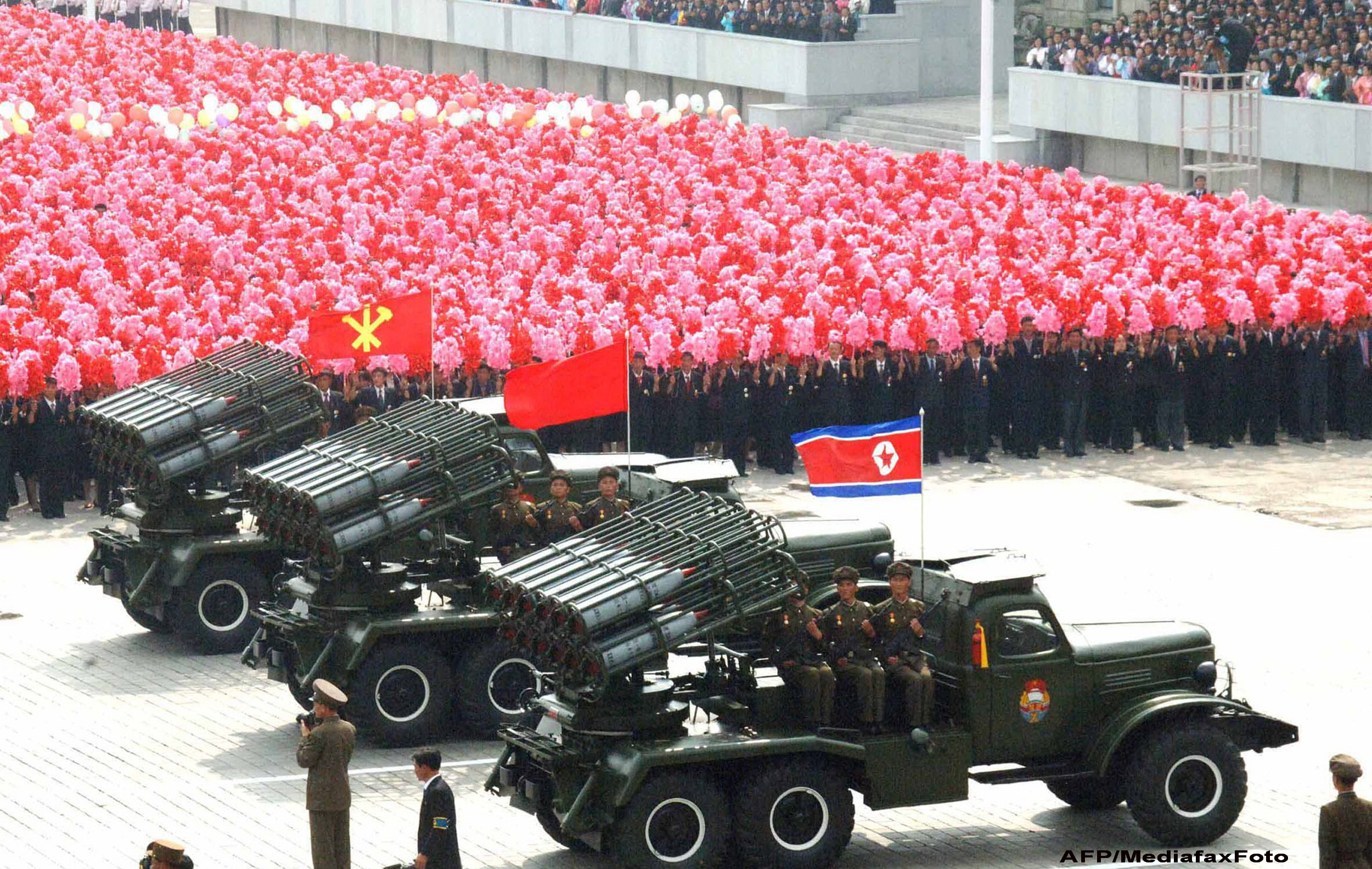 VIDEO. Ceremonii grandioase in Coreea de Nord pentru celebrarea nasterii lui Kim Jong-il