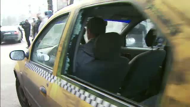 Scandal cu impuscaturi in trafic, intre soferul unui BMW si un taximetrist