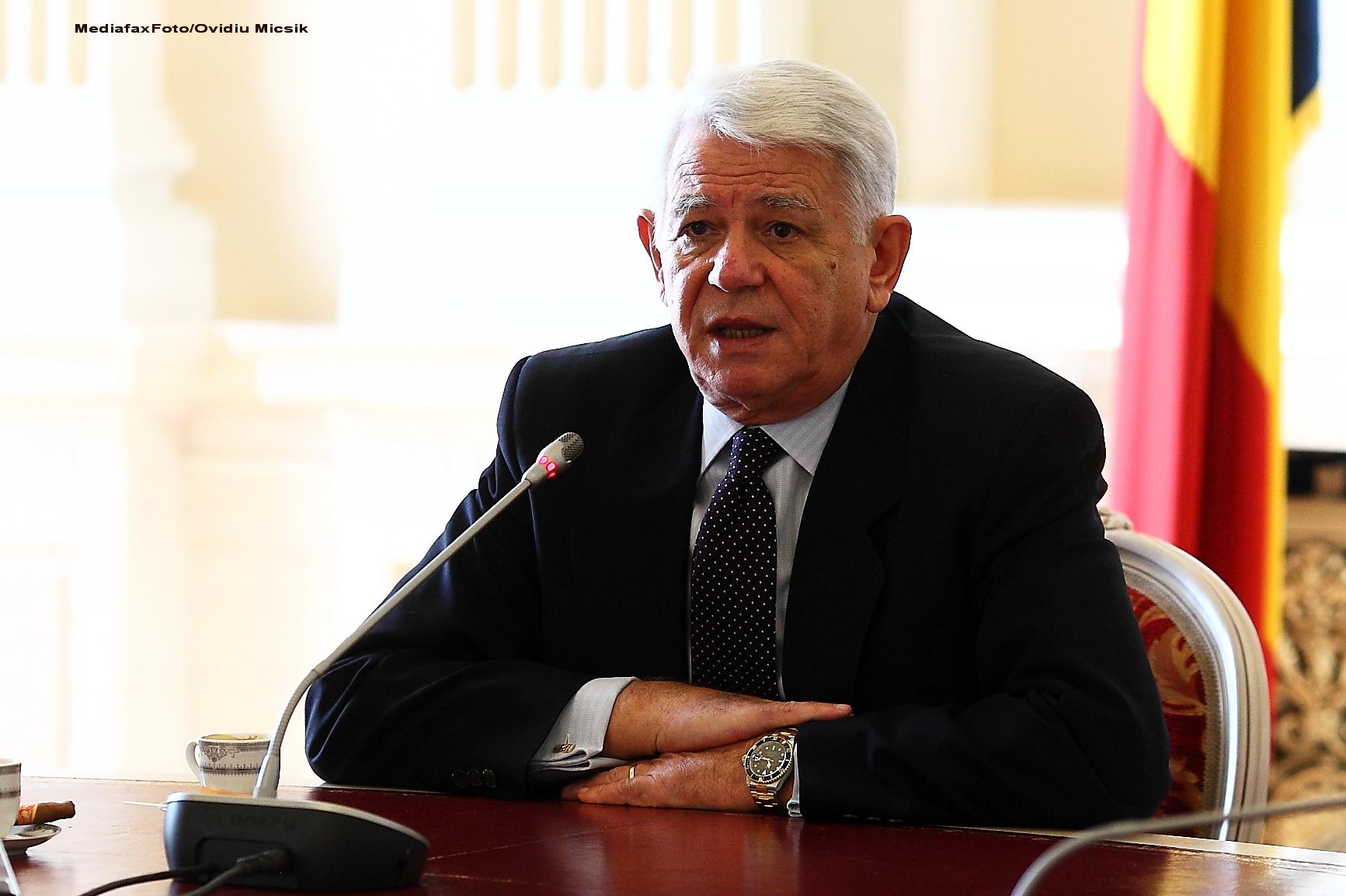 Vot fara emotii pentru Teodor Melescanu. Parlamentul l-a validat in functia de director al SIE