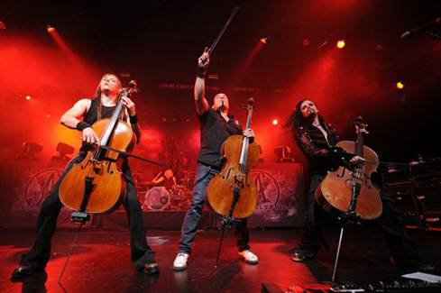Concert Apocalyptica la Romanian Rock Meeting 2012