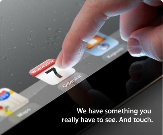 E (aproape) oficial. iPad 3 se lanseaza pe 7 martie