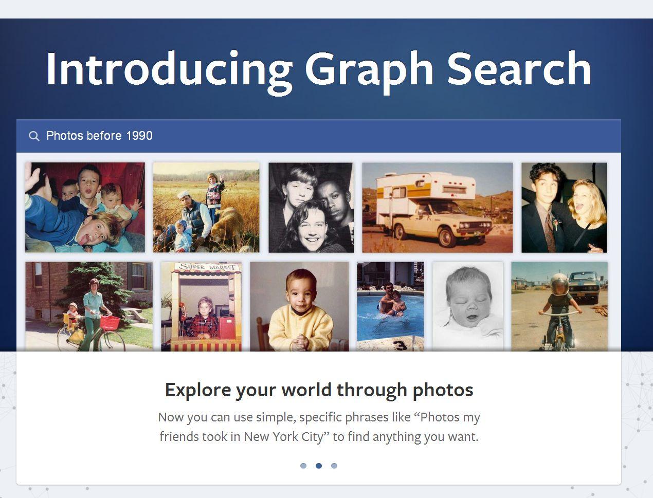 Facebook a lansat versiunea noua a serviciului de cautare Graph Search