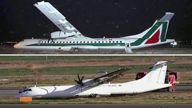 Trei anchete declansate, dupa accidentul Carpatair. Oficialii Alitalia si-au sters sigla de pe avion