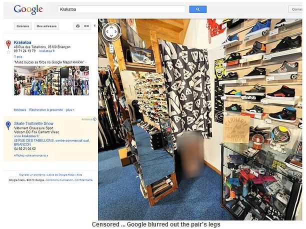Poza pe care Google s-a straduit sa o cenzureze rapid. Ce a surprins Street View intr-un magazin
