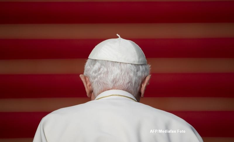 Discursul prin care Papa Benedict al XVI-lea si-a anuntat demisia