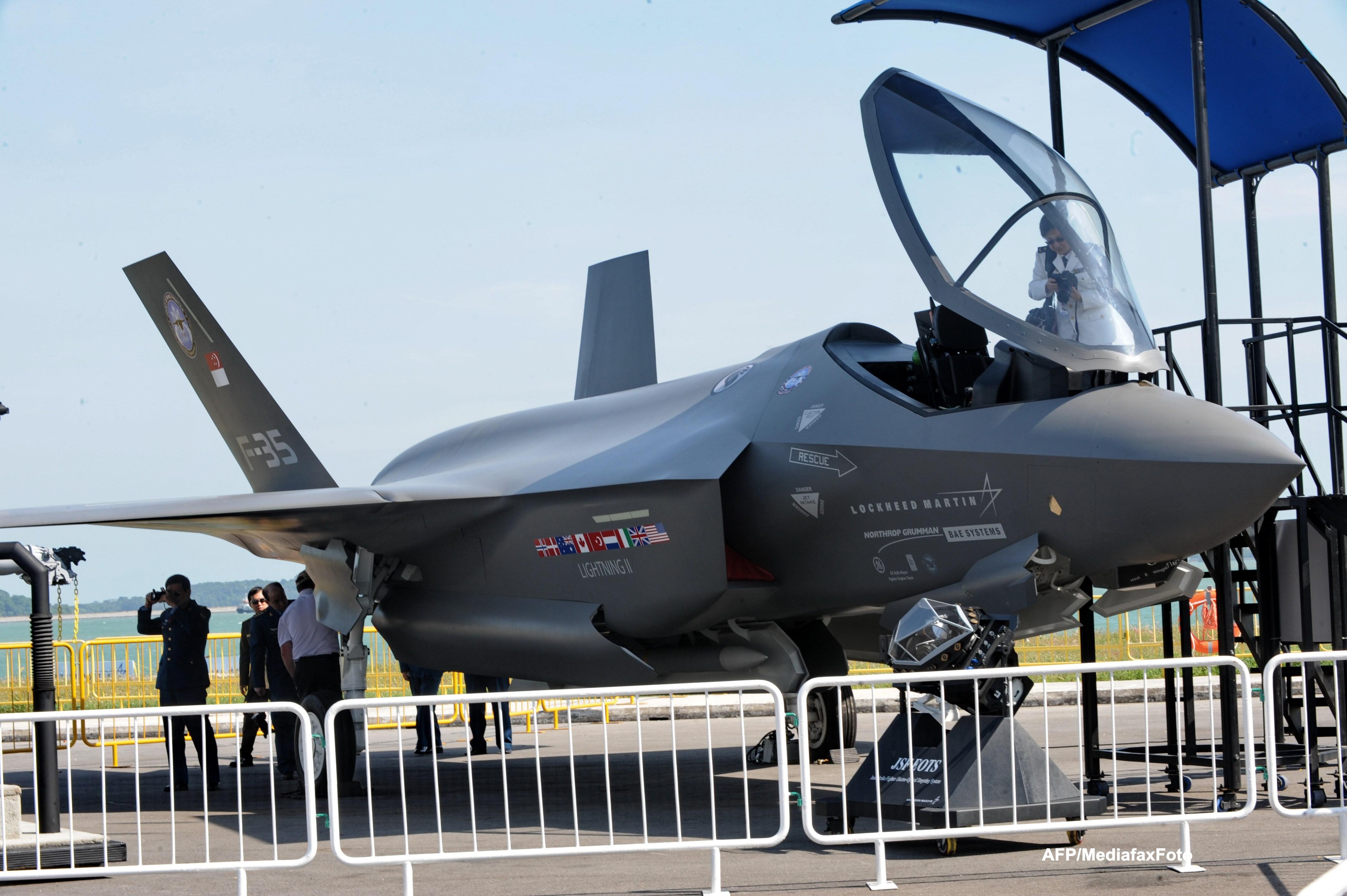Time Magazine: Programul de inarmare cu avioane de lupta F-35, cel mai scump din istoria omenirii