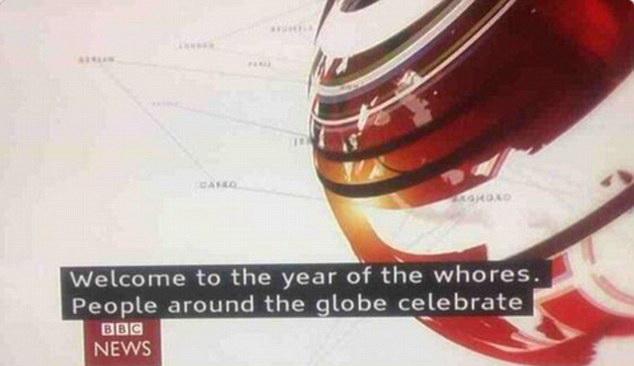 Gafa memorabila a celor de la BBC. Cum a subtitrat televiziunea britanica intrarea in Noul An chinezesc