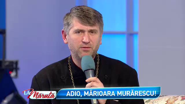 Duhovnicul Marioarei Murarescu, La Maruta. Preotul Cristian Pomohaci a lamurit zvonurile despre viata realizatoarei TV