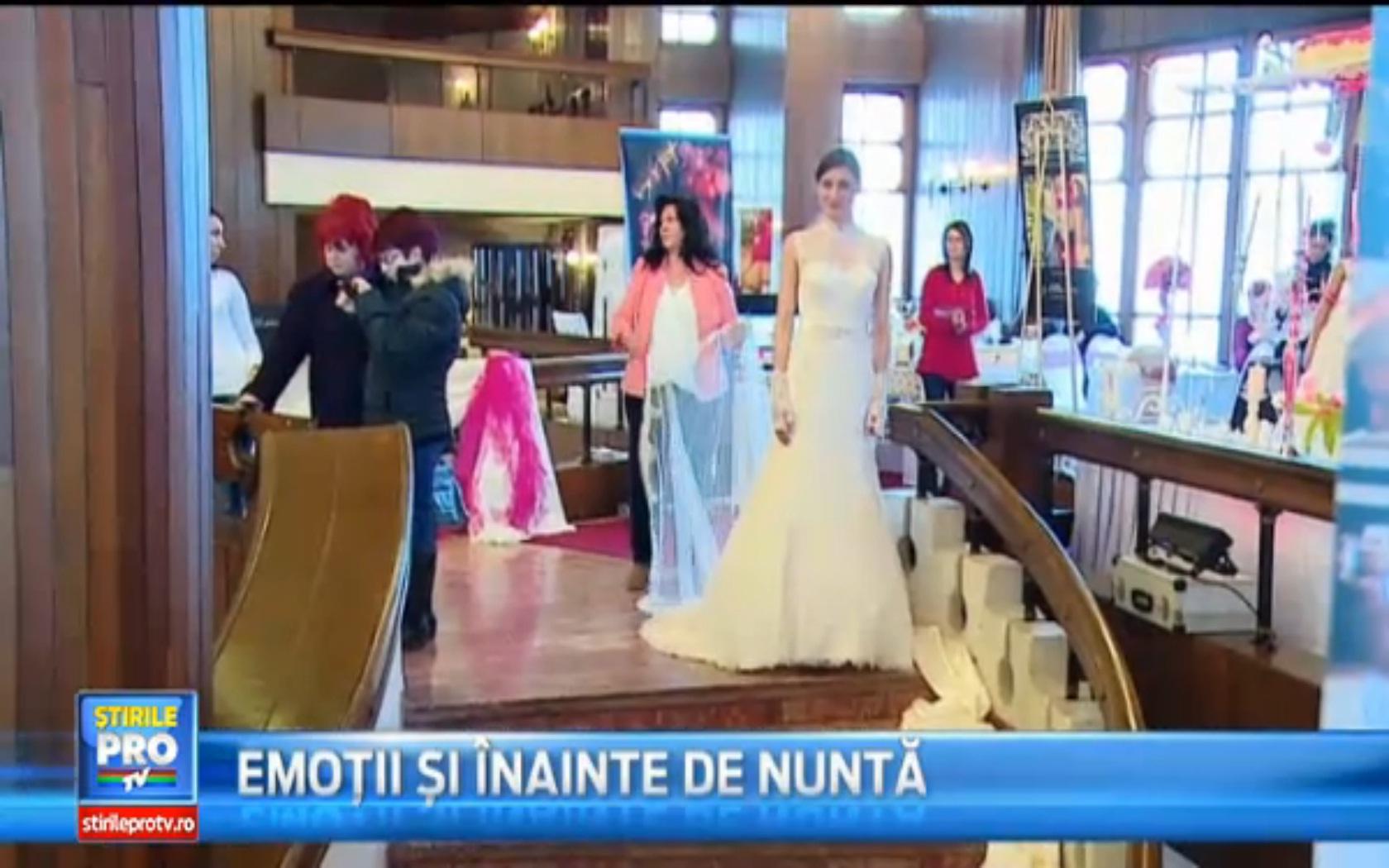 Emotii pentru mirese la Targul de nunti organizat la Mures