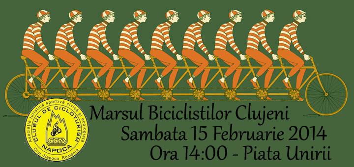Biciclistii din Cluj, asteptati la o noua editie a Marsului Biciclistilor