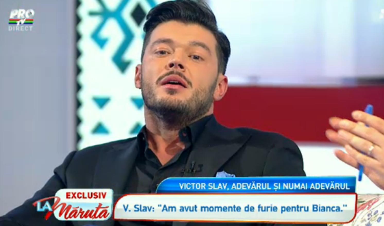 Dezvaluirile lui Victor Slav in platoul emisiunii