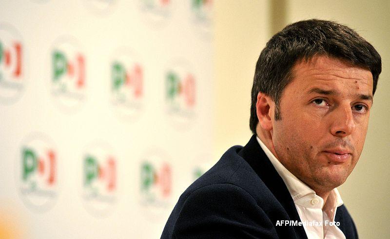 Premierul italian Matteo Renzi a demisionat dupa esecul de la referendum.