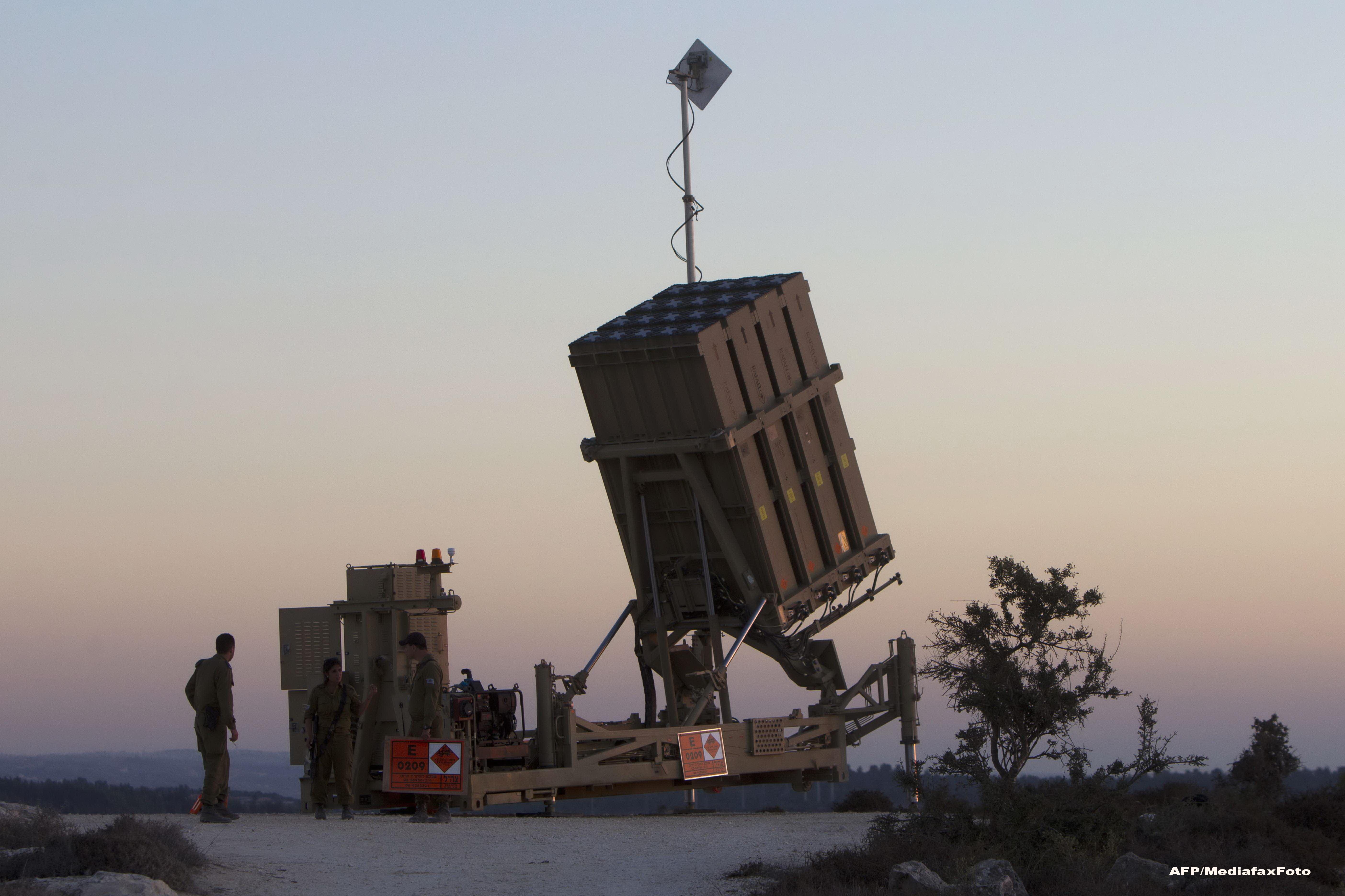 Israelul se lauda ca a dezvoltat o tehnologie militara ca in Razboiul Stelelor: