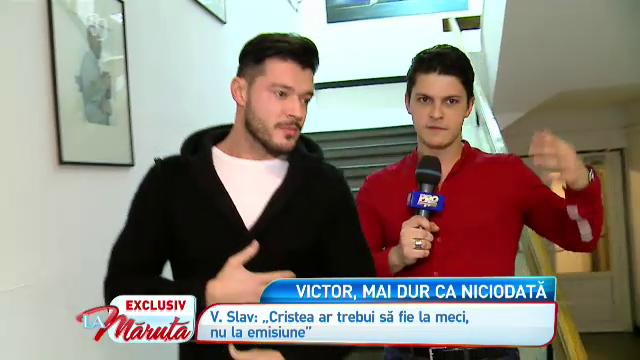 Adrian Cristea ataca. Fotbalistul sustine ca Victor Slav a fost violent cu Bianca. Victor raspunde acuzatiilor, La Maruta