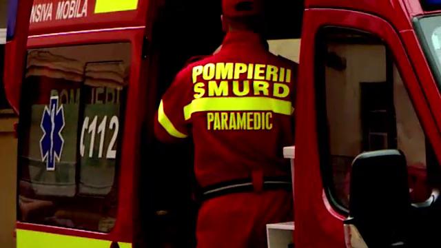 Un copil de trei ani a supraviețuit după ce a căzut de la etajul doi, în Cluj-Napoca