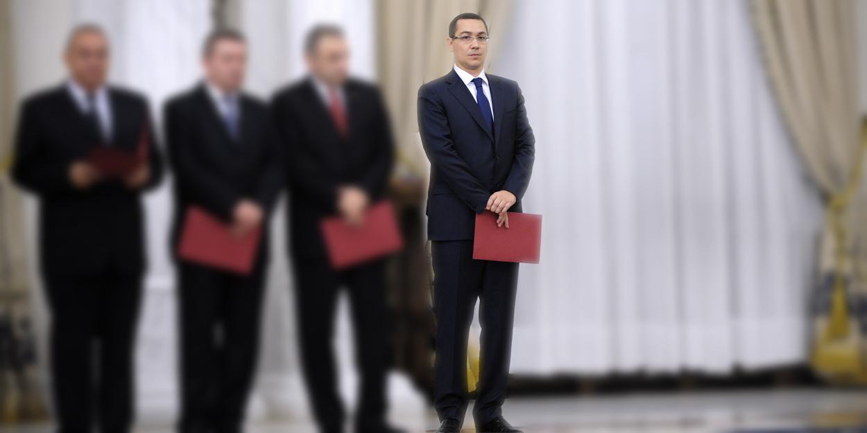 Guvernul Ponta 3 va fi de fapt Ponta 2.1. Premierul copiaza de la Tariceanu